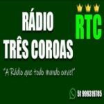 Logo da emissora Rádio Três Coroas