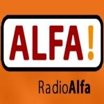 Logo da emissora Radio Alfa 107.4 FM