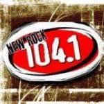 Logo da emissora Radio KFRR 104.1 FM