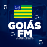 Logo da emissora Rádio Goias FM
