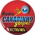 Logo da emissora Rádio Canarinho Gospel Retro MIx
