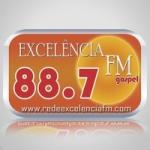 Logo da emissora Rádio Excelência 88.7 FM