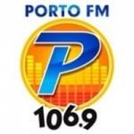 Logo da emissora Rádio Porto 106.9 FM