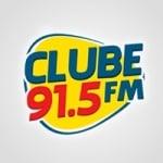 Logo da emissora Rádio Clube 91.5 FM