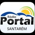 Logo da emissora Rádio Portal de Santarém