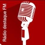 Logo da emissora Rádio Destaque FM