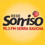 Logo da emissora Rádio Sorriso 95.3 FM