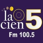 Logo da emissora Radio La Cien 5 100.5 FM