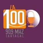 Logo da emissora Radio La 100 90.9 FM