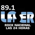 Logo da emissora Radio Láser 89.1 FM