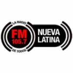 Logo da emissora Radio Nueva Latina 105.7 FM