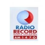 Logo da emissora Rádio Record 1470 AM