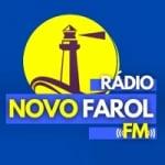 Logo da emissora Rádio Novo Farol FM