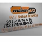 Logo da emissora Radio Más 102.1 FM