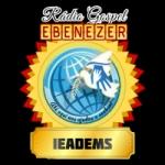 Logo da emissora Rádio Gospel Ebenézer