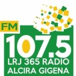 Logo da emissora Radio Alcira Gigena 107.5 FM