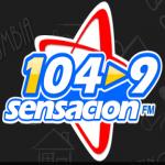Logo da emissora Radio Sensación 104.9 FM