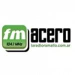 Logo da emissora Radio Acero 104.1 FM