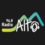 Logo da emissora Radio Alto 94.8 FM