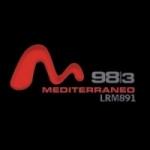 Logo da emissora Radio Mediterráneo 98.3 FM