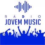 Logo da emissora Rádio Jovem Music