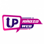 Logo da emissora UP Rádio e TV Web