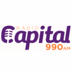 Logo da emissora Rádio Capital 990 AM