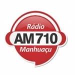 Logo da emissora Rádio Manhuaçu 710 AM