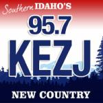 Logo da emissora Radio KEZJ 95.7 FM