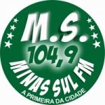 Logo da emissora Rádio Minas Sul 104.9 FM