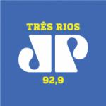 Logo da emissora Rádio Jovempan 92.9 FM