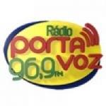 Logo da emissora Rádio Porta Voz 96.9 FM