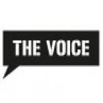 Logo da emissora Radio The Voice 104.6 FM