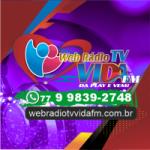 Logo da emissora Web Rádio TV Vida FM