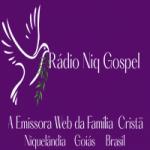Logo da emissora Rádio Niq Gospel