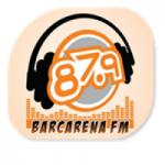 Logo da emissora Rádio Barcarena 87.9 FM