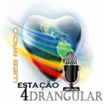 Logo da emissora Web Rádio Estação 4drangular