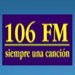 Logo da emissora Radio Siempre una Canción 106 FM