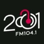 Logo da emissora Radio FM 2001 104.1