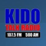 Logo da emissora KIDO 580 AM