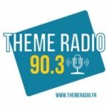 Logo da emissora Theme Radio 90.3 FM