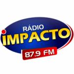 Logo da emissora Rádio Impacto 87.9 FM