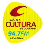 Logo da emissora Rádio Cultura 94.7 FM