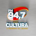 Logo da emissora Rádio Cultura Guanambi 94.7 FM