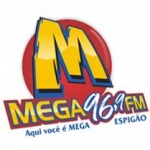 Logo da emissora Rádio Mega 96.9 FM