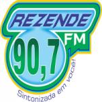 Logo da emissora Rádio Rezende 90.7 FM