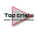 Logo da emissora Rádio Top Cristo