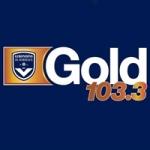 Logo da emissora Gold 103.3 FM