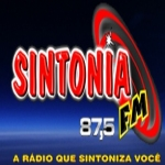 Logo da emissora Rádio Sintonia 87.5 FM