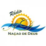 Logo da emissora Rádio Nação De Deus